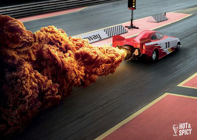 KFCの広告